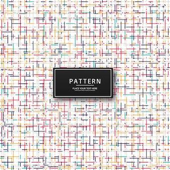 Ilustração de fundo abstrato colorido padrão
