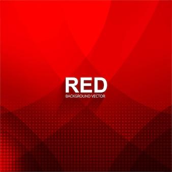 Ilustração de fundo brilhante vermelho brilhante abstrato