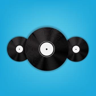 Ilustração de fundo de música