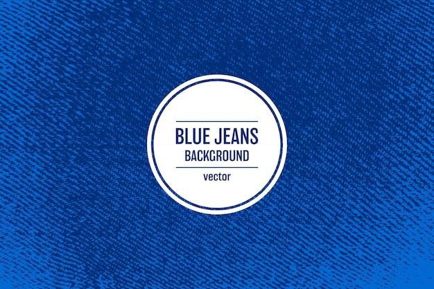 Ilustração de fundo de textura de jeans
