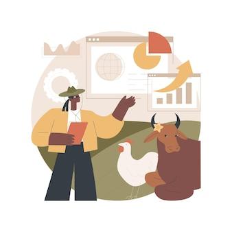 Ilustração de gestão holística