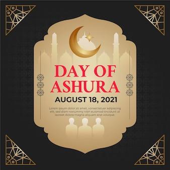 Ilustração de gradiente ashura