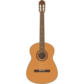 Ilustração de guitarra