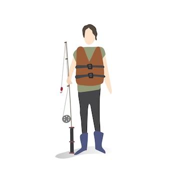 Ilustração de hobbies e atividades humanas