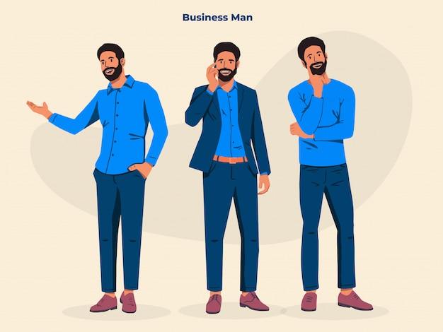 Ilustração de homem de negócios