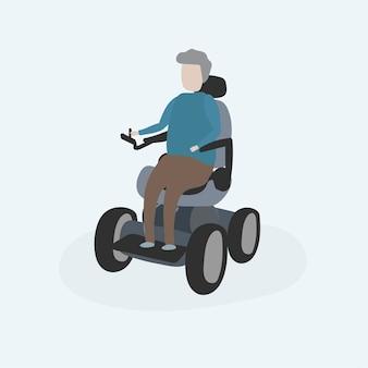 Ilustração, de, human, avatar