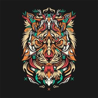 Ilustração de lionza