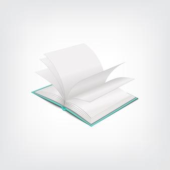 Ilustração de livro, conceito elegante