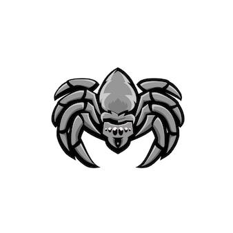 Ilustração de logotipo de esporte de aranha