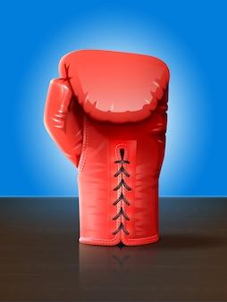 Ilustração de luva de boxe