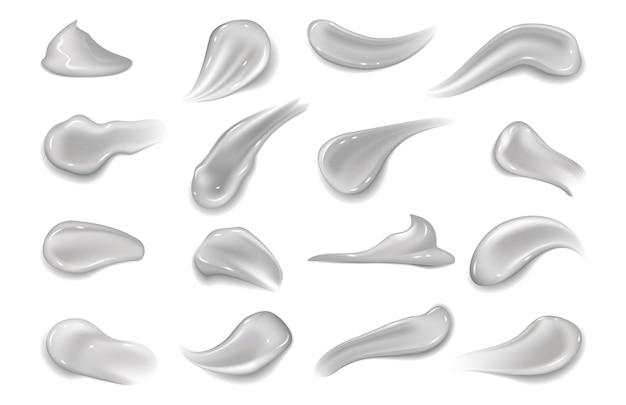 Ilustração de manchas de gel
