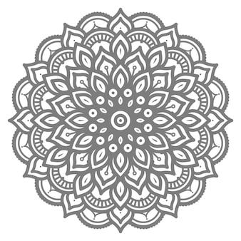 Ilustração de mandala abstrata de conceito decorativo