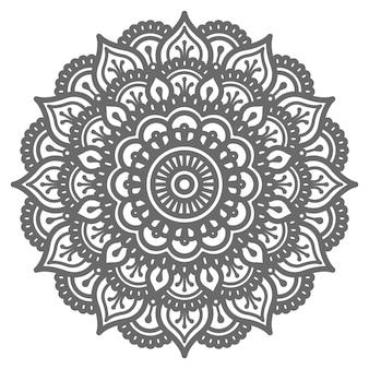 Ilustração de mandala decorativa