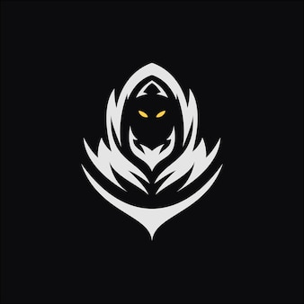 Ilustração de máscara preta