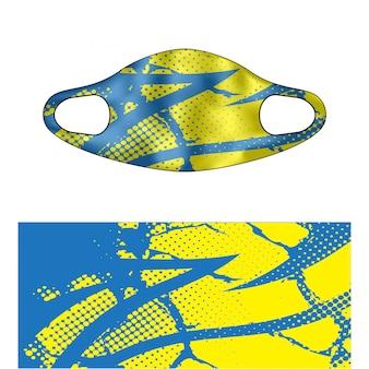 Ilustração de mascarador de mergulho