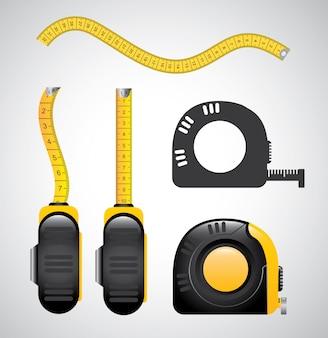 Ilustração de medição