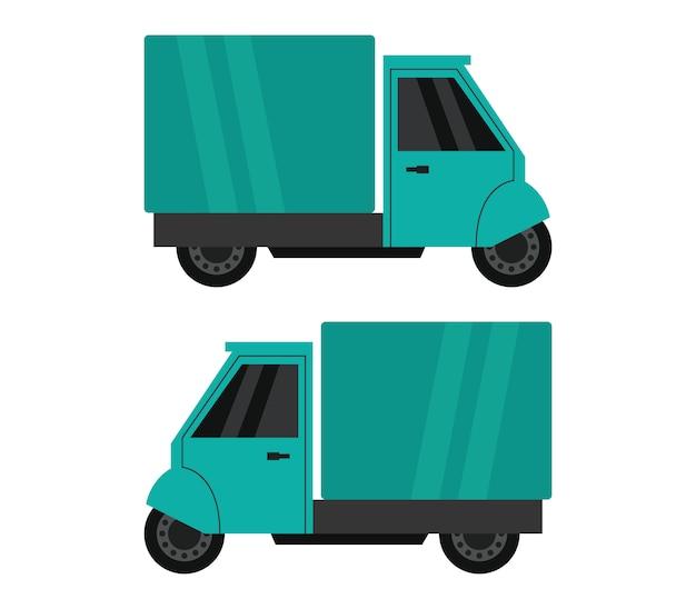 Ilustração de mini carro