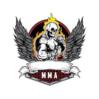 Ilustração de mma