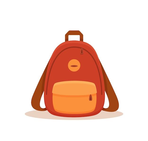Ilustração de mochila de rua.