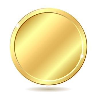Ilustração de moeda de ouro