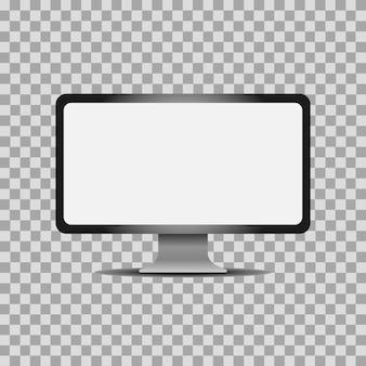 Ilustração de monitor de computador