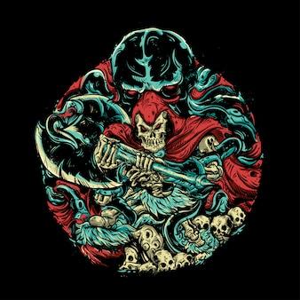 Ilustração de monstro