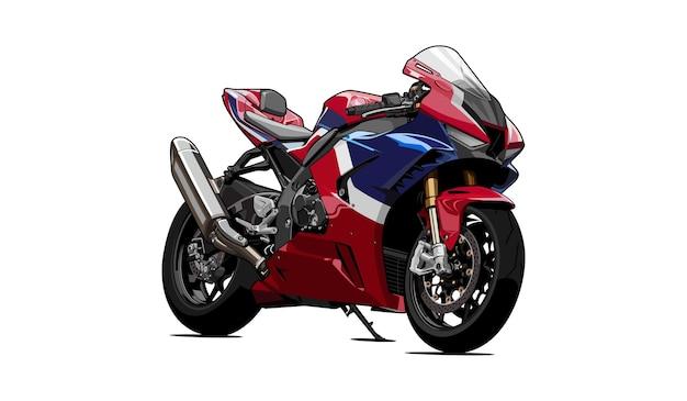 Ilustração de motocicleta