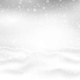 Ilustração de neve