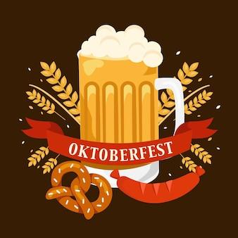 Ilustração de oktoberfest
