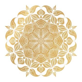 Ilustração de ornamento de mandala