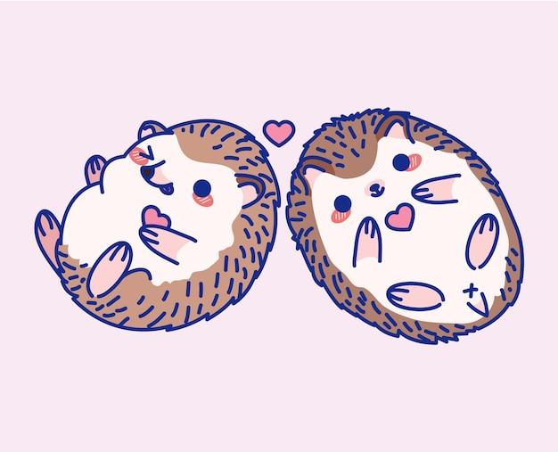 Ilustração de ouriço