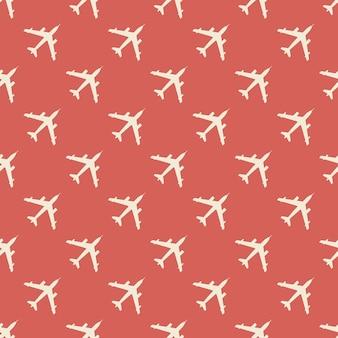 Ilustração de padrão de avião. imagem de estilo criativo e militar