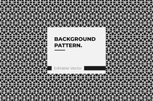 Ilustração de papel de parede abstrato de fundo padrão