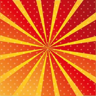 Ilustração de papel de parede vermelho