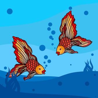 Ilustração de peixe