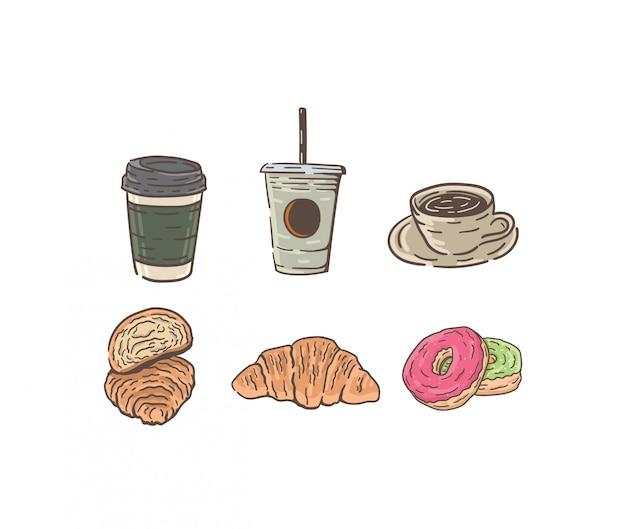 Ilustração de pequeno-almoço