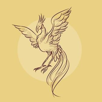 Ilustração de phoenix