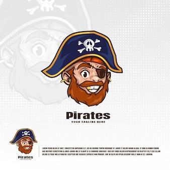 Ilustração de piratas