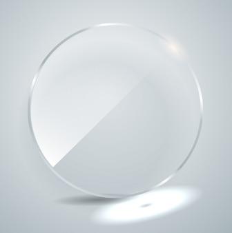 Ilustração de placa de vidro