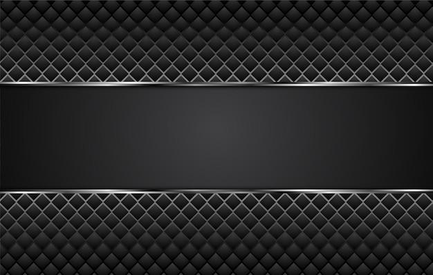 Ilustração de projeto de plano de negócios abstrato preto