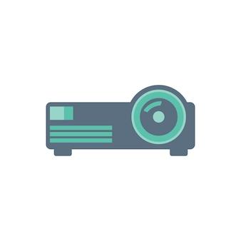 Ilustração de projetor
