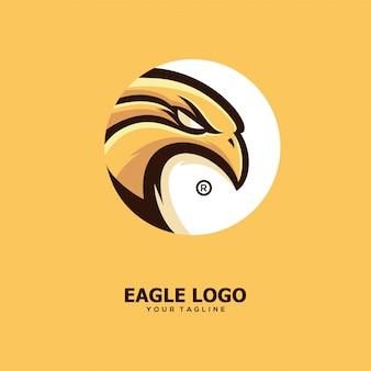 Ilustração de projetos de conceito de águia