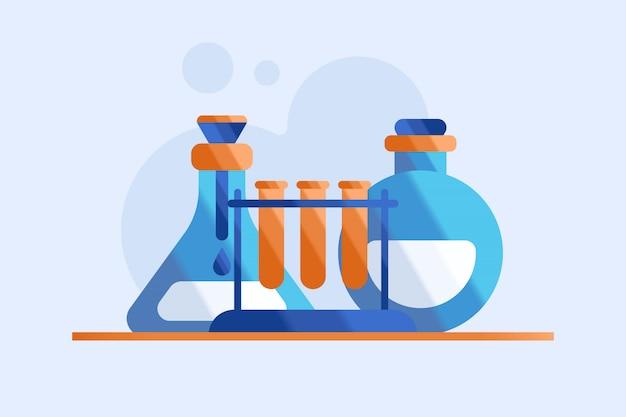 Ilustração de química