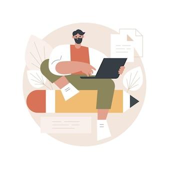 Ilustração de redação