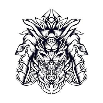 Ilustração de riwaki