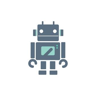 Ilustração, de, robô