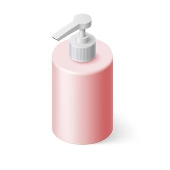 Ilustração de sabonete líquido