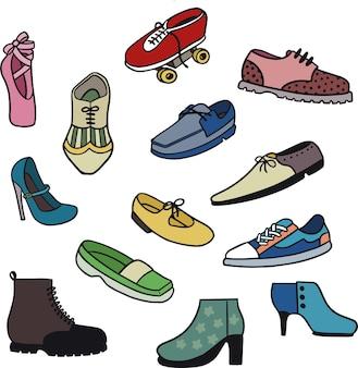 Ilustração de sapatos