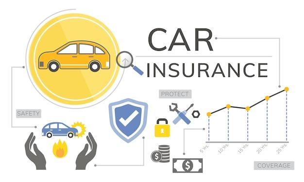 Ilustração de seguro de vida