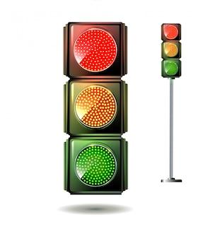 Ilustração de semáforo